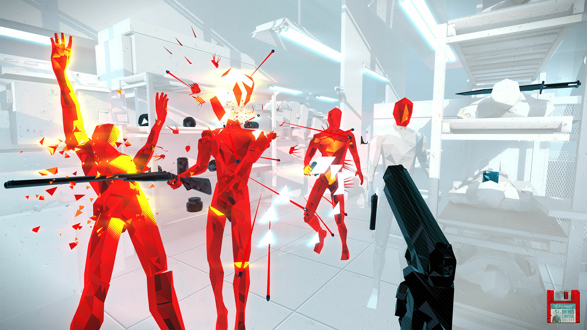 Superhot: Mind Control Delete screenshot 2